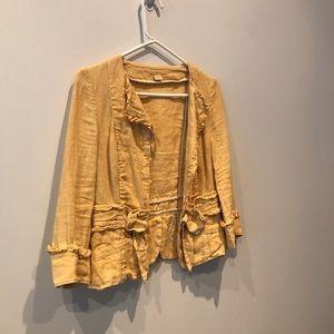 Anthropologie Jackets & Coats - Anthhropologie Linen Blazer - sz 2